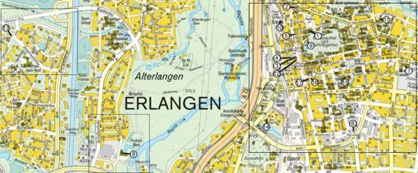 Plan Erlangen